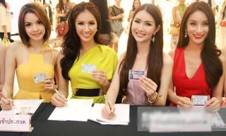 Lộ diện dàn thí sinh xinh đẹp của Hoa hậu Chuyển giới Thái Lan 2015