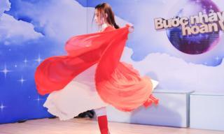 Angela Phương Trinh 'vượt' chấn thương miệt mài khiêu vũ