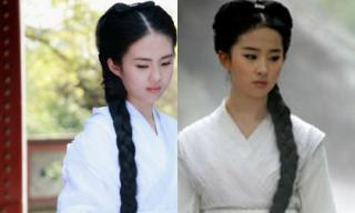 'Bản sao Tiểu Long Nữ' giống Lưu Diệc Phi khiến fans 'sôi sục'