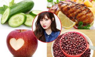 Những thực phẩm 'ruột' giúp giảm cân hiệu quả của sao Hàn