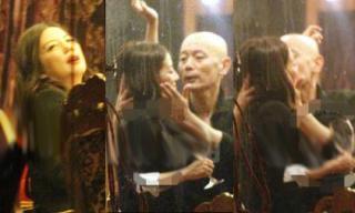 Lộ ảnh Triệu Vy hút thuốc, bị đồng nghiệp 'cưỡng hôn' khi say rượu