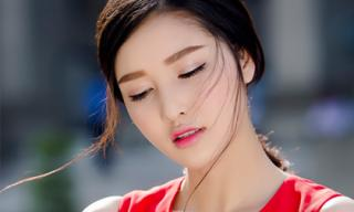 Triệu Thị Hà quyến rũ với trang phục của NTK Lê Thanh Hoà