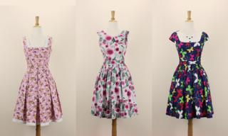 Váy hoa vintage The Name Shop tô điểm mùa hè thêm dịu dàng