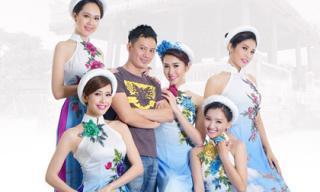Nhà thiết kế Ngô Nhật Huy 'trình làng' bộ sưu tập áo dài quyến rũ