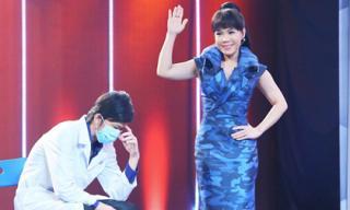 'Vợ' Hoài Linh đi phẫu thuật thẩm mỹ để thi Hoa hậu