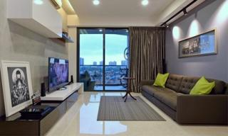 Ngắm căn hộ hiện đại điển hình của một gia đình ở Singapore