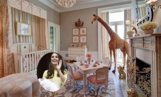 Ngắm căn phòng lộng lẫy của con gái công nương Kate