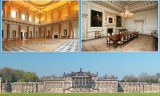 Khám phá nội thất ngôi nhà rộng nhất châu Âu tọa lạc ở Anh