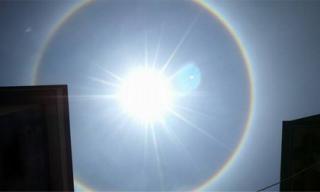 Hiện tượng cầu vồng tròn tại Hà Nội khiến giới trẻ thích thú