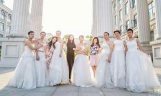 Sinh viên nam mặc váy cưới chụp ảnh kỷ yếu tốt nghiệp gây sốt cộng đồng