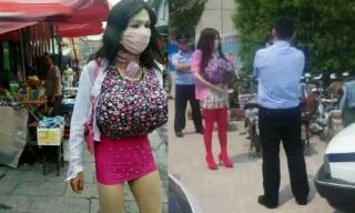 Chàng trai giả gái vào nhà vệ sinh nữ nhìn trộm bị cảnh sát tóm gọn