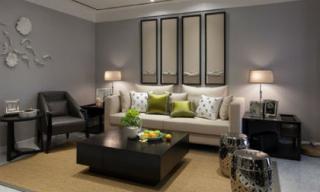 Trang trí nội thất sang trọng cho căn hộ 120 m2