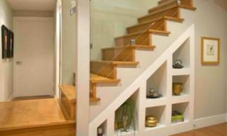 Tận dụng gầm cầu thang giúp tối ưu hóa không gian sử dụng