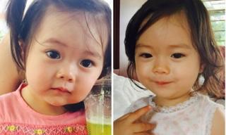 Con gái Đoan Trang đẹp trong veo tựa thiên thần