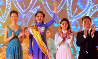 Tân Hoa khôi ĐBSCL tiếp tục tranh tài tại Hoa hậu Hoàn vũ Việt Nam 2015