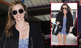 Miranda Kerr diện váy 200 nghìn đồng dù có thu nhập khủng