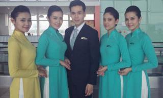 Hình ảnh đầu tiên của đồng phục chính thức Vietnam Airlines