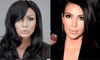 'Phù thủy trang điểm' hô biến thành 4 người gia đình Kim Kardashians