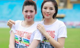 Kỳ Duyên - Tú Anh trẻ trung thi nhau chạy bộ