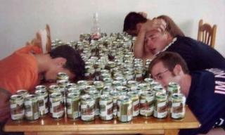 Cười nghiêng ngả với loạt ảnh uống say xỉn 'không biết trời đất là gì' (P3)
