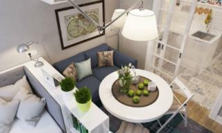 Thiết kế nội thất đẹp của căn hộ 25 m2