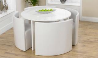 Những mẫu bàn ghế giúp tiết kiệm không gian