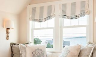 Rèm cửa sổ lấy cảm hứng từ La Mã cho nhà thêm trang nhã