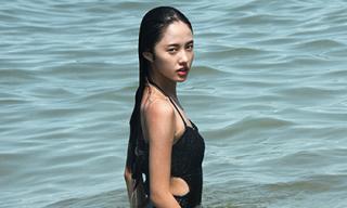 Top Girl nổi tiếng giới trẻ khoe dáng quyến rũ trước biển