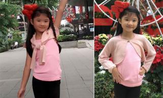 Con gái Trương Ngọc Ánh tạo dáng điệu đà như mẫu nhí