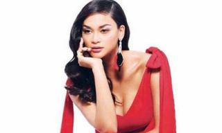 Tân Hoa hậu Hoàn vũ khoe vòng một gợi cảm sau khi bị chê kém sắc