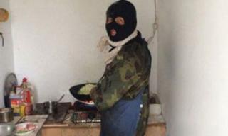 'Chết cười' với chùm ảnh bá đạo khi các ông chồng vào bếp