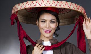 Lan Khuê 'vượt mặt' 80 mẫu Việt để làm vedette Festival Huế