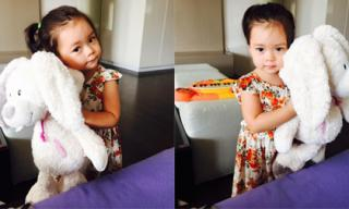 Đoan Trang khoe con gái học giỏi và có trí nhớ tốt