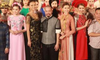 Đức Hùng gây ấn tượng tại Lễ hội áo dài Festival Huế