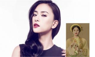 Ngô Thanh Vân: Hạ Vi vấn khăn, choàng áo lụa có thần thái của Nam Phương Hoàng hậu
