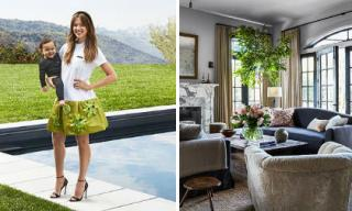 """""""Thiên thần bóng tối"""" Jessica Alba khoe căn biệt thự mới gần gũi với thiên nhiên của gia đình"""