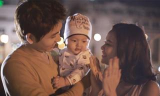 Tim - Trương Quỳnh Anh khoe con trai trong MV
