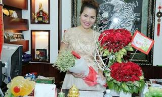 Hoa hậu Bùi Thị Hà ngập trong hạnh phúc bất ngờ... ngày sinh nhật