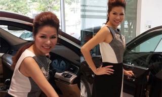 Hoa hậu Bùi Thị Hà tậu xế sang... làm quà tặng