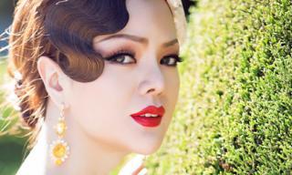 Ruby Anh Phạm -  Vẻ đẹp làm mê đắm tại Hoa hậu phụ nữ người Việt thế giới 2015