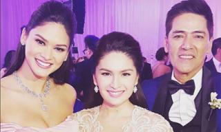 Tân Hoa hậu Hoàn vũ bất ngờ làm phù dâu trong đám cưới bạn thân