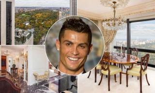 Bên trong căn hộ xa hoa hơn 511 tỷ Cristiano Ronaldo đang tính mua
