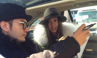 Angela Baby và Huỳnh Hiểu Minh cùng nhau về quê ăn Tết