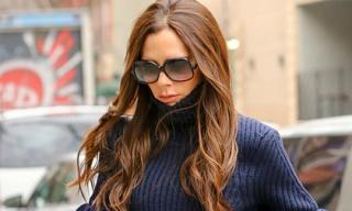 Victoria Beckham khéo che thân hình 'cò hương' bằng bộ đồ 'chất lừ'