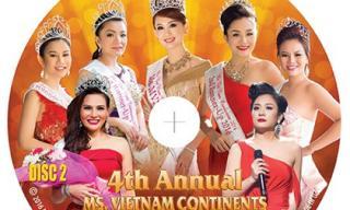 Minh Chánh phát hành DVDs & Blu-rays chương trình Hoa hậu Phụ nữ NVTG 2016