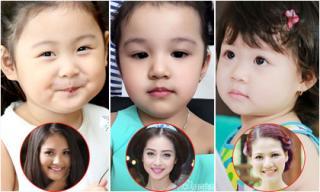 Cận mặt vẻ đẹp thiên thần của con gái nhà Hoa hậu Việt