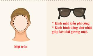 Cách chọn kính mắt hoàn hảo dựa theo hình dáng khuôn mặt