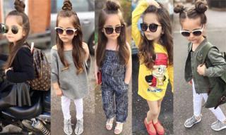 Fashionista nhí thể hiện gu thời trang 'không thể đẳng cấp hơn'