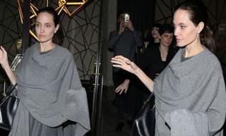 Nghi vấn Angelina Jolie gầy trơ xương vì mắc bệnh lạ