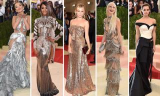 'Cuộc chiến' thời trang của mỹ nhân Hollywood trên thảm đỏ Met Gala 2016